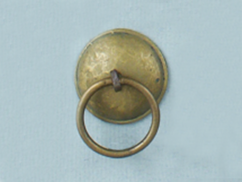 Brass Domed Ring Pull