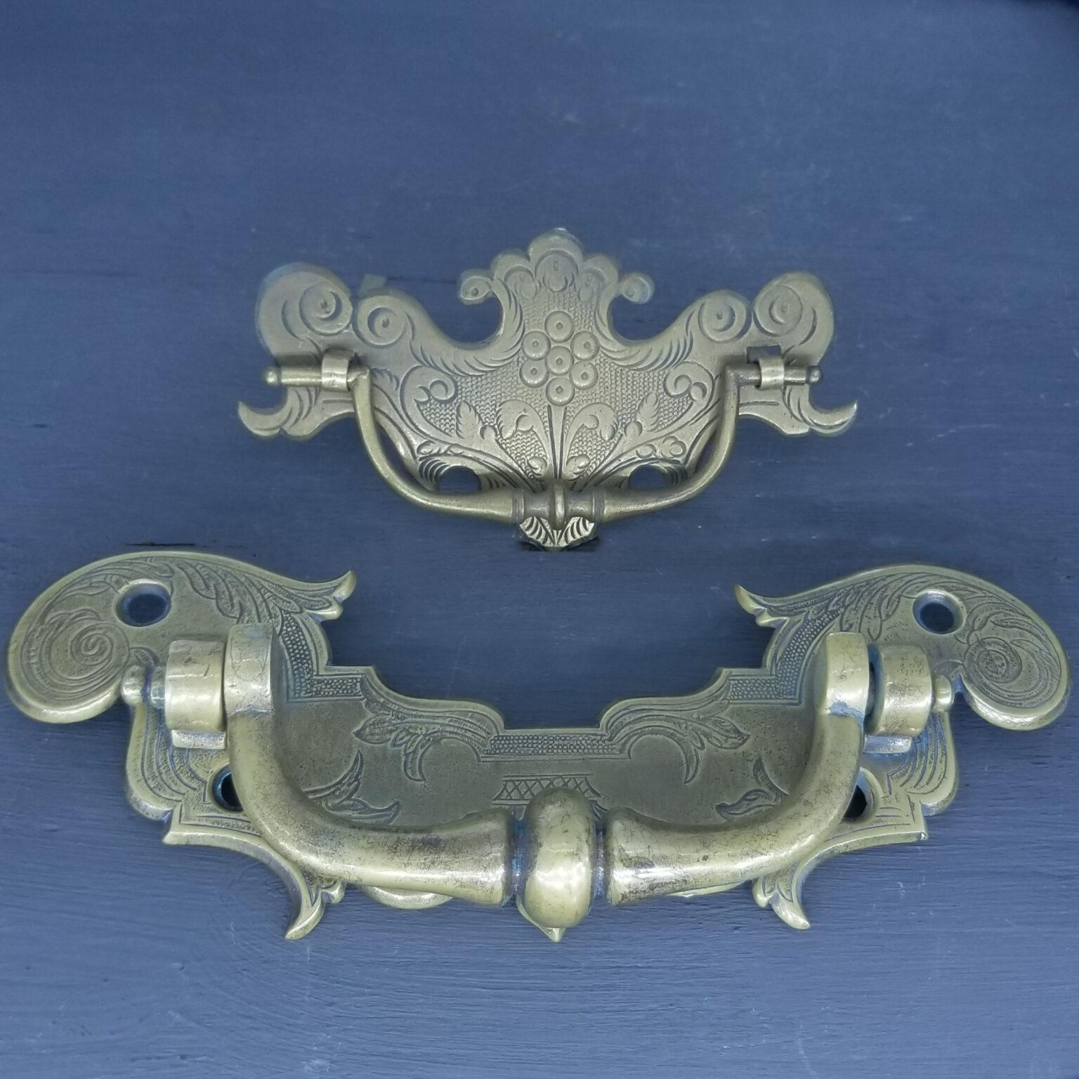 Engraved Handles